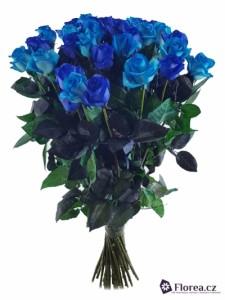 Kytice růží - modré růže